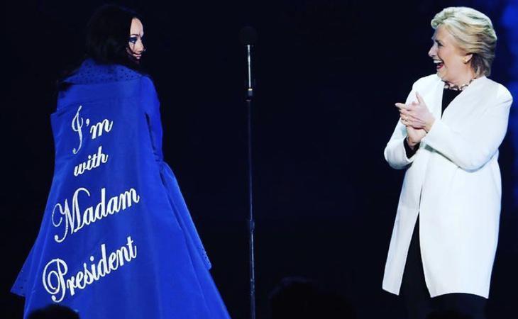 Katy Perry tiene muy claro a quién va a votar