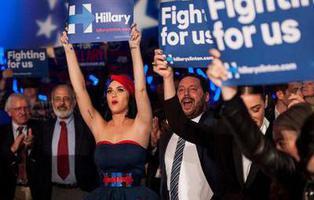 7 artistas que apoyan a Hillary Clinton