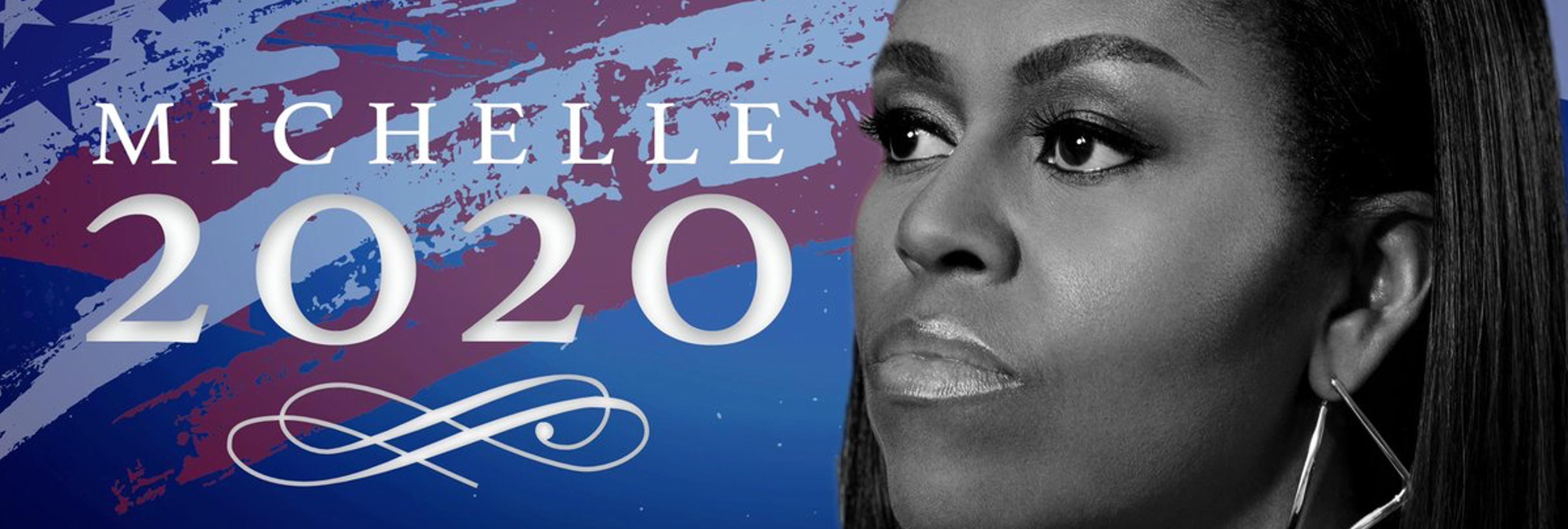 Internet se moviliza pidiendo que Michelle Obama sea la candidata demócrata para 2020
