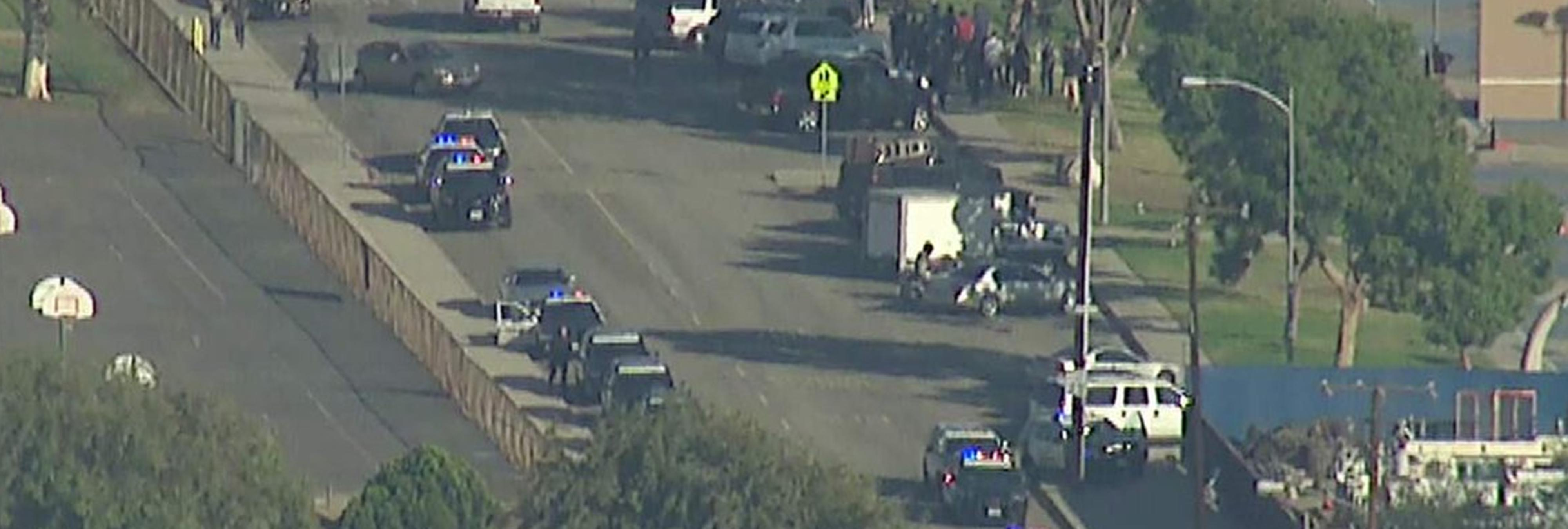 Tiroteo cerca de un colegio electoral deja dos muertos y varios heridos en California