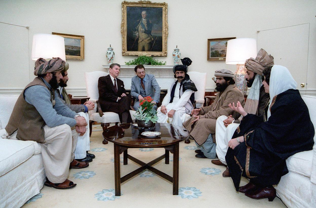 Talibanes en la Casa Blanca, 1985