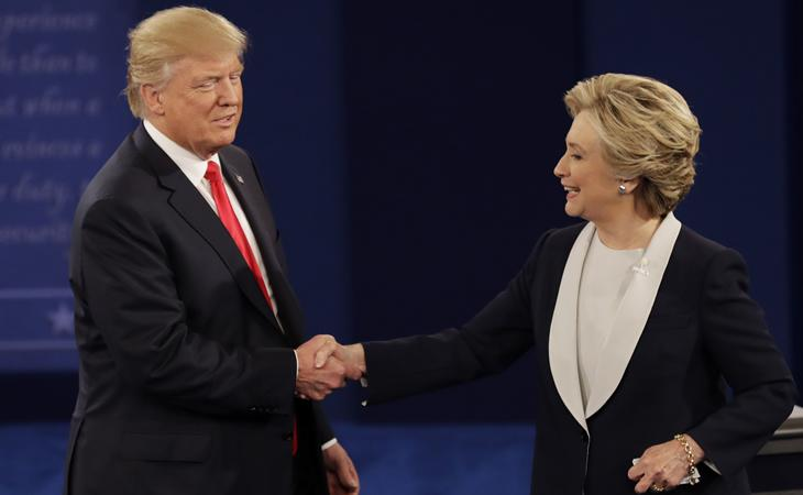 El magnate vence a Hillary Clinton