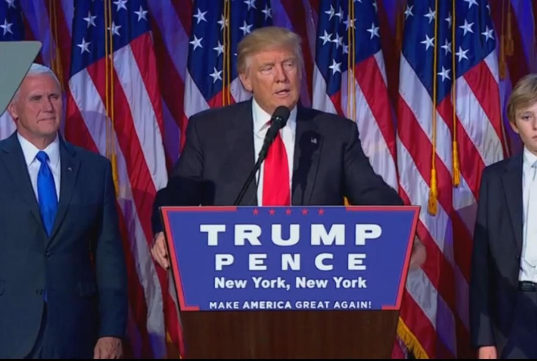 Donald Trumo es el nuevo presidente de EE.UU