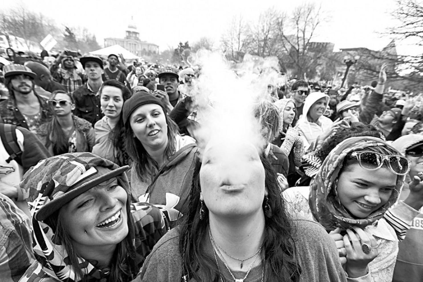 Ellos fumaban antes de la legalización