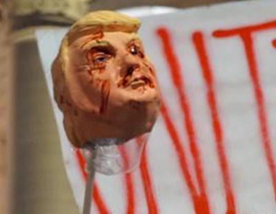 """""""Tú no eres Estados Unidos, nosotros somos Estados Unidos"""": Las calles marchan contra Trump"""