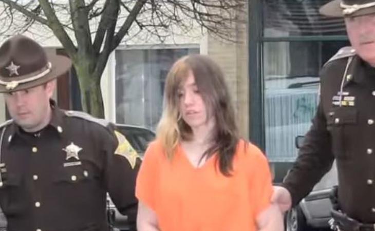 Ashlee Martinson es detenida por la policía