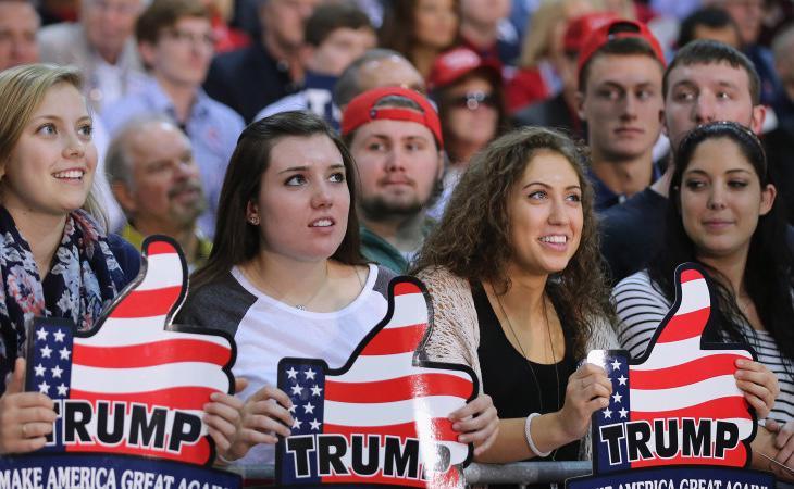 El 53% de las mujeres blancas votaron a Trump