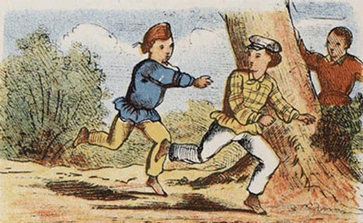 El pilla-pilla, o pillado, es el juego más sencillo del mundo