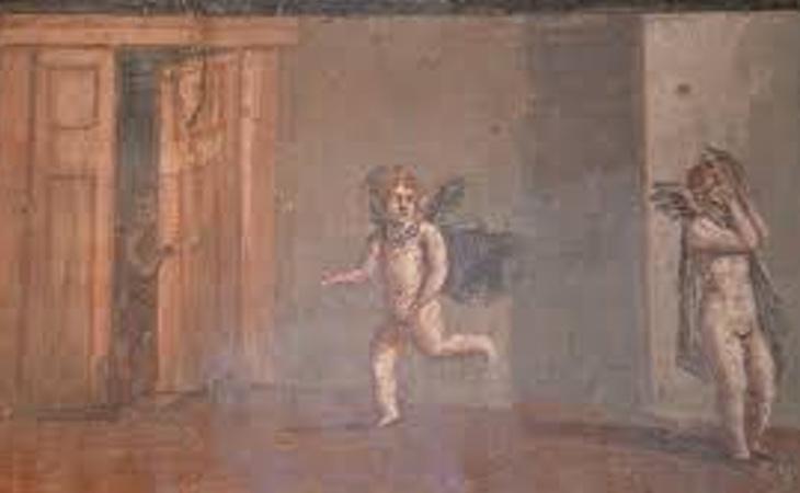 Hasta Cupido jugaba al escondite
