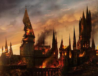 Se incendia el Gran Comedor de Hogwarts