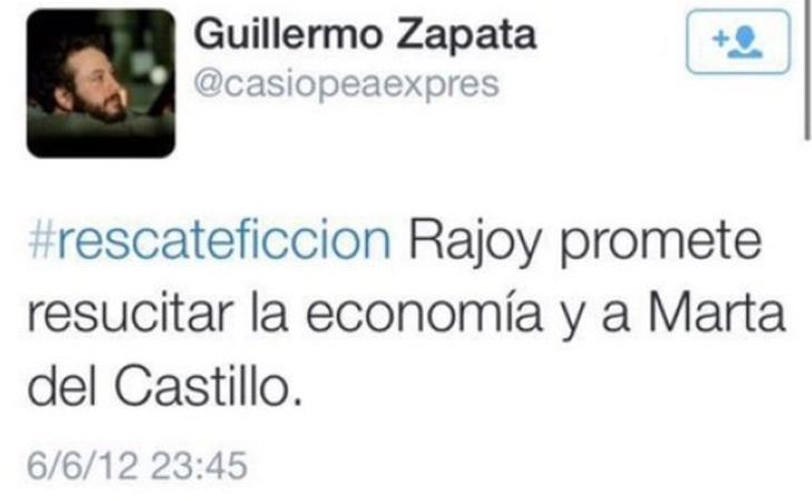 Uno de los tuits ofensivos, este contra Marta del Castillo