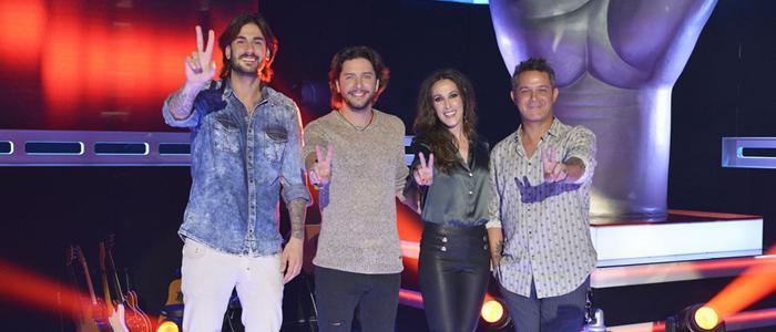 Los actuales coaches de 'La Voz'