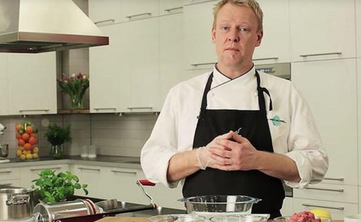 Anders Vendel en su programa 'Guerra de chefs'