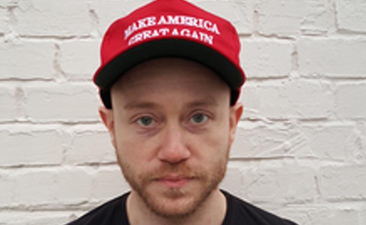 Andrew Anglin, neonazi que apoya a Donald Trump