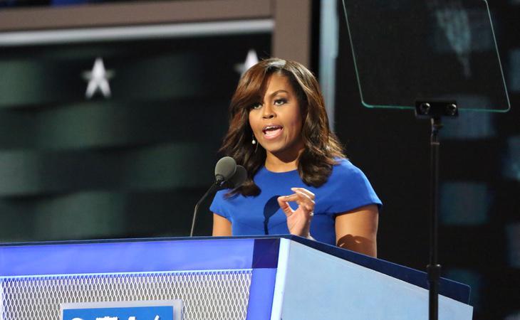 Michelle Obama es la primera mujer negra en convertirse en Primera Dama