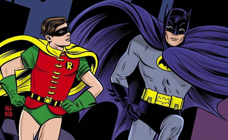 Batman y Robin siempre estuvieron rodeados de rumores de homosexualidad