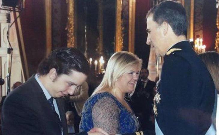¿Estará el pequeño Nicolás en el besa manos de Felipe VI?