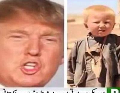 Una cadena de televisión afirma que Donald Trump nació en Pakistán