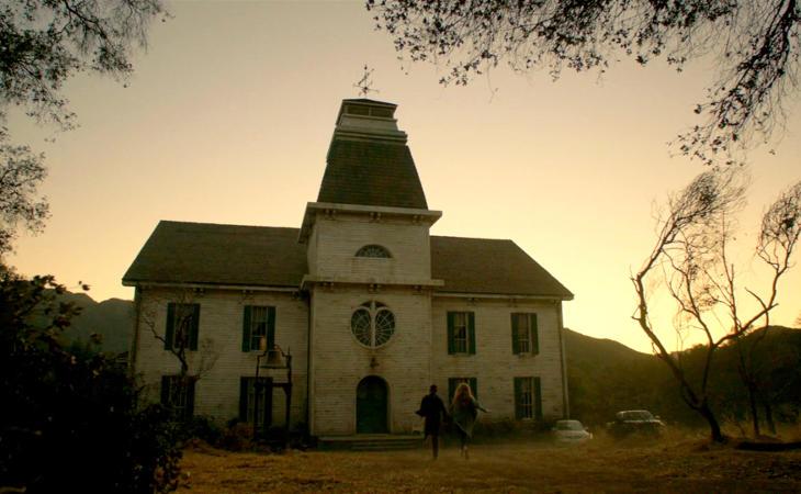 Casa colonial centro de las tramas de 'Roanoke'