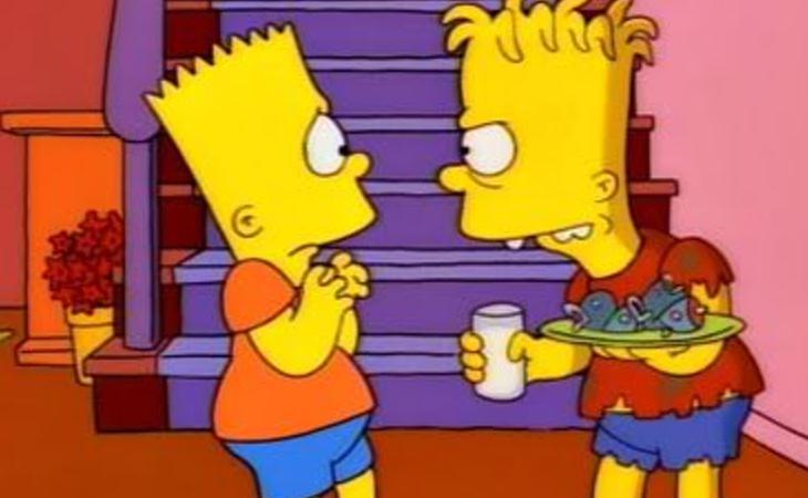 Bart es el personaje escogido para hablar de la maldad