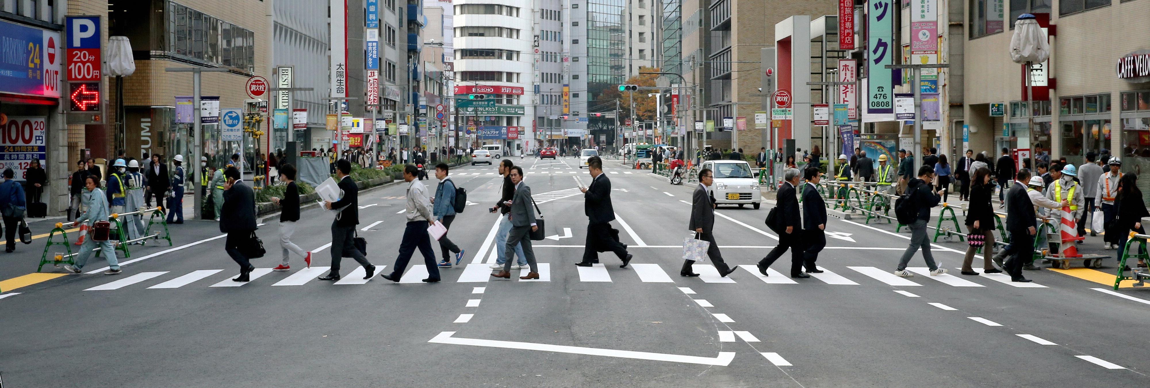 Ejemplo de eficacia: Reabre la carretera japonesa una semana después de su derrumbe
