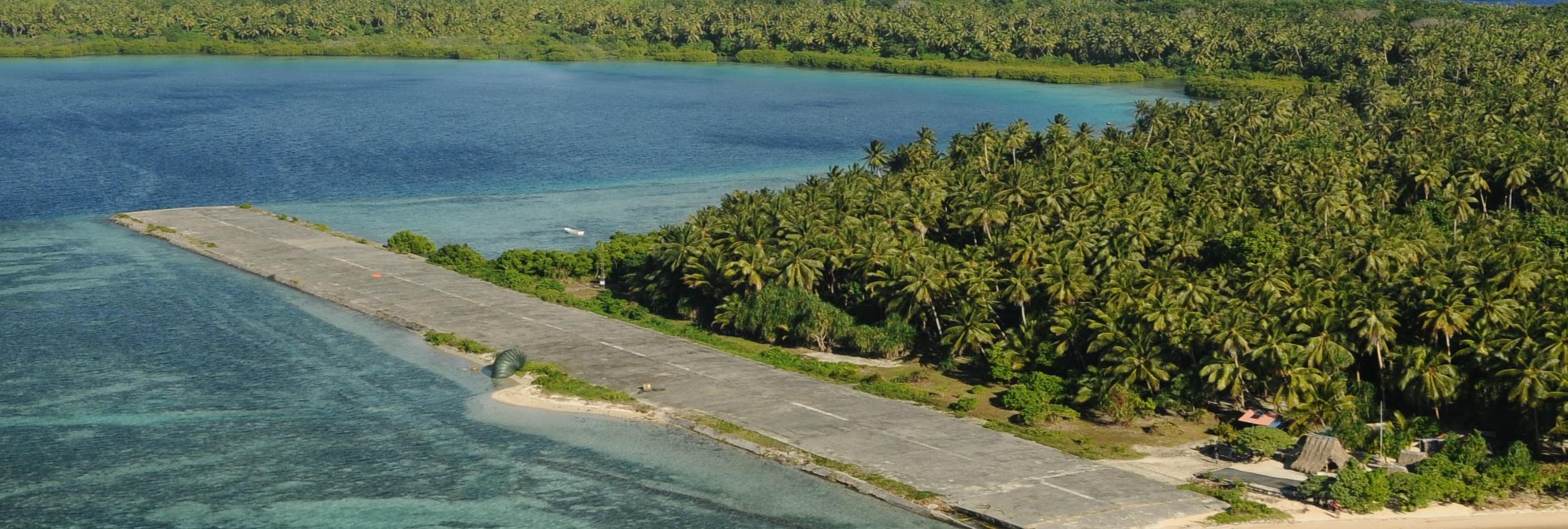 Pingelap, la isla donde parte de sus habitantes solo ven en blanco y negro