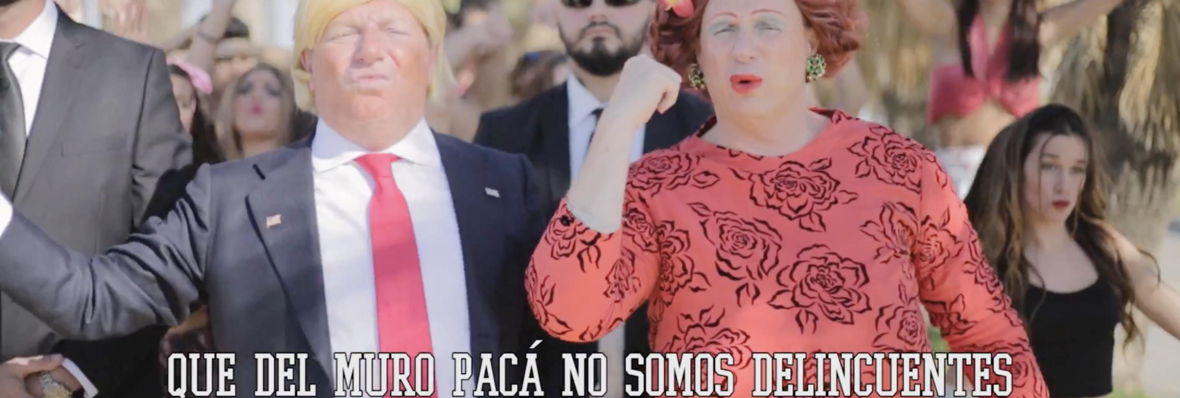 Los Morancos vuelven con una parodia contra Trump