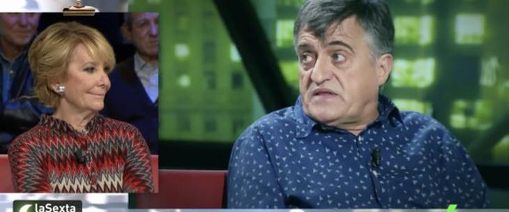 La respuesta de Aguirre a la dictadura de Franco: '¿Cuántos años lleva Fidel Castro?'