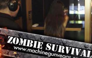 El nuevo hobby de los millonarios: disparar a zombies con balas de verdad
