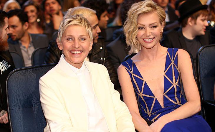Ellen DeGeneres rompió tabúes y salió del armario en 1997. Está felizmente casada con Portia de Rossi