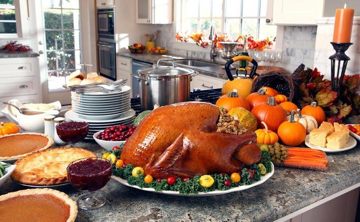 Comida típica de Acción de gracias