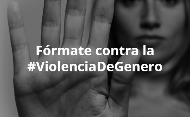Cartel cursos de formación de la Junta de Andalucía