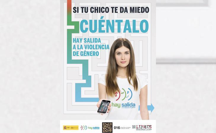 Campaña del Ministerio de Sanidad contra la violencia de género