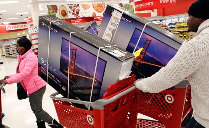 A veces una sola televisión no es suficiente (Patrick T. Fallon/Bloomberg)
