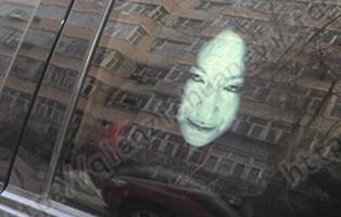 La presencia de fantasmas en los coches, un peligro en las carreteras de China