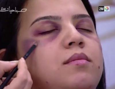 Indignación por un programa marroquí en el que se enseña cómo maquillar las señales de maltrato