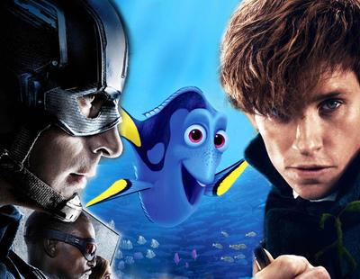 Las 10 películas más taquilleras del 2016