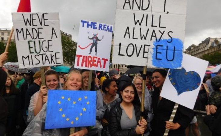 El Brexit dividió a la población británica