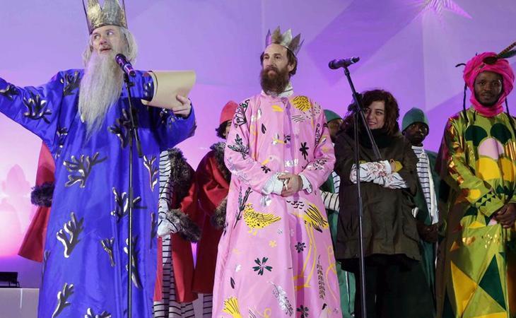 Unos Reyes Magos poco tradicionales desataron las bromas de los twitteros
