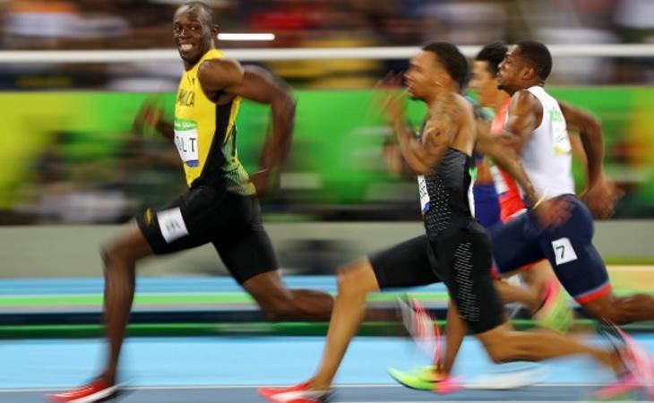 Bolt volvió a ser una estrella en los Juegos, aunque no fue el único