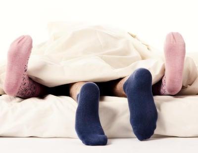 Hacerlo con calcetines facilita llegar al orgasmo