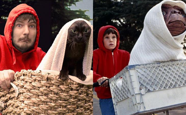 Un 'E.T.' muy gatuno