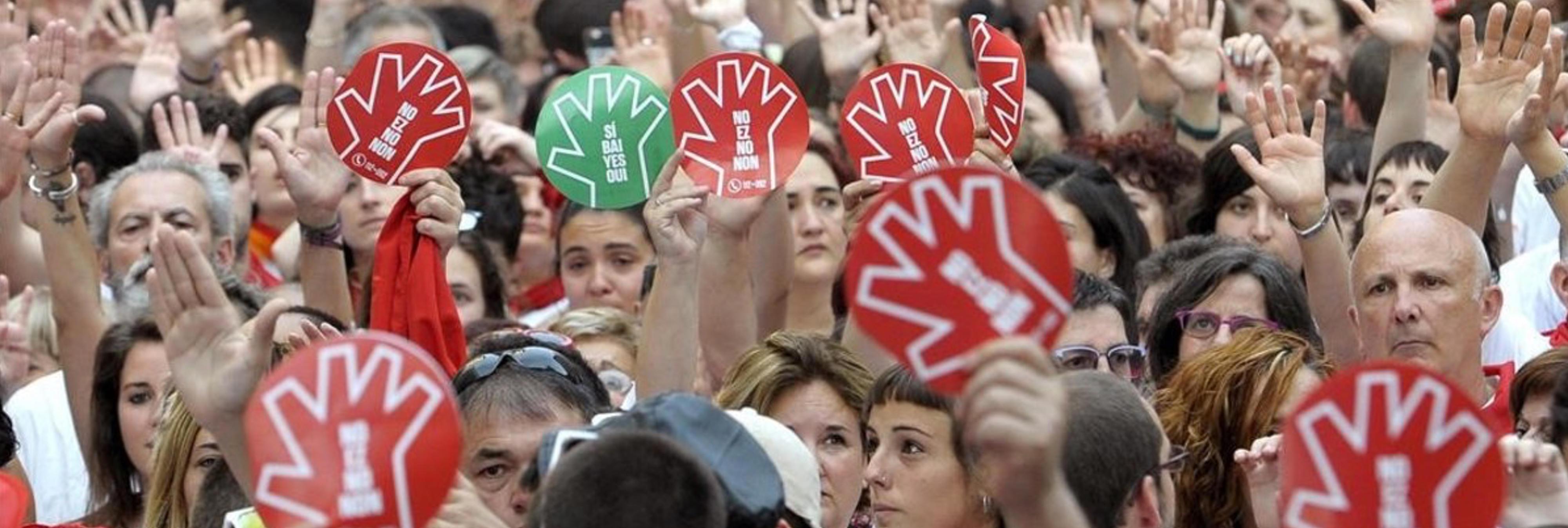 """La joven violada en San Fermín: """"Me obligaron a hacer una felación a cada uno y luego me penetraron los cuatro"""""""
