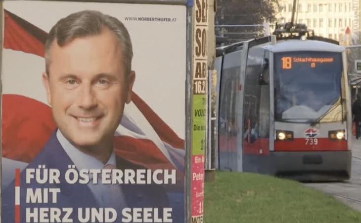 Norbert Hofer, candidato ultranacionalista por FPÖ