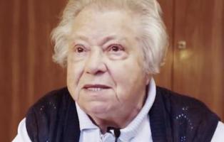 Una superviviente del Holocausto advierte de los peligros de votar a la ultraderecha