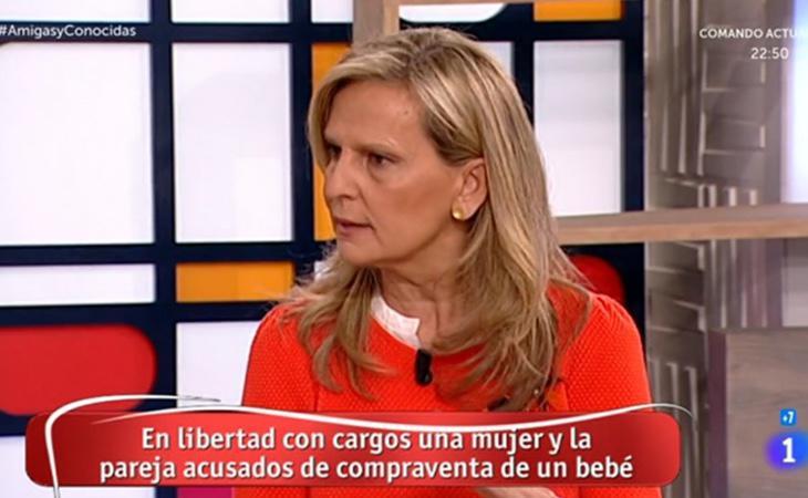 Isabel San Sebastián se ha mostrado muy en contra de la gestación subrogada