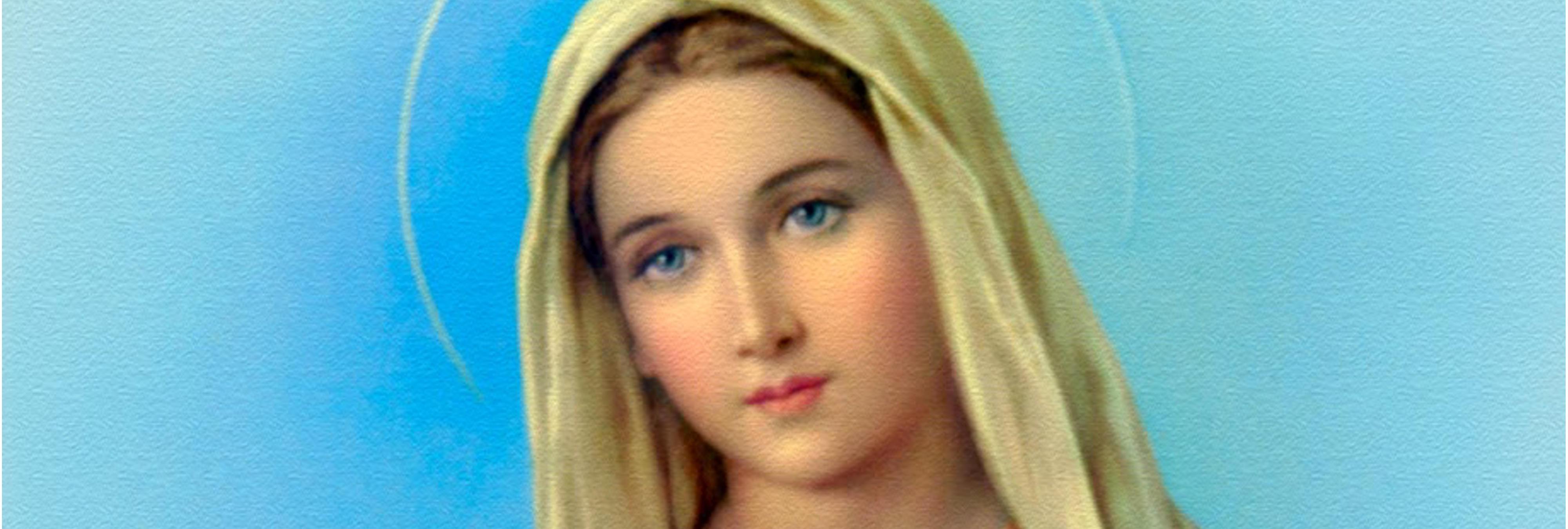 Resultado de imagen de virgen maria