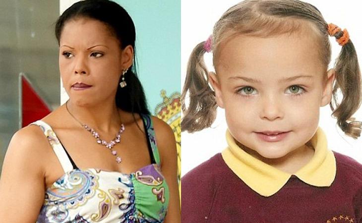 Michaela Pyke y su hija Poppy (SWNS)