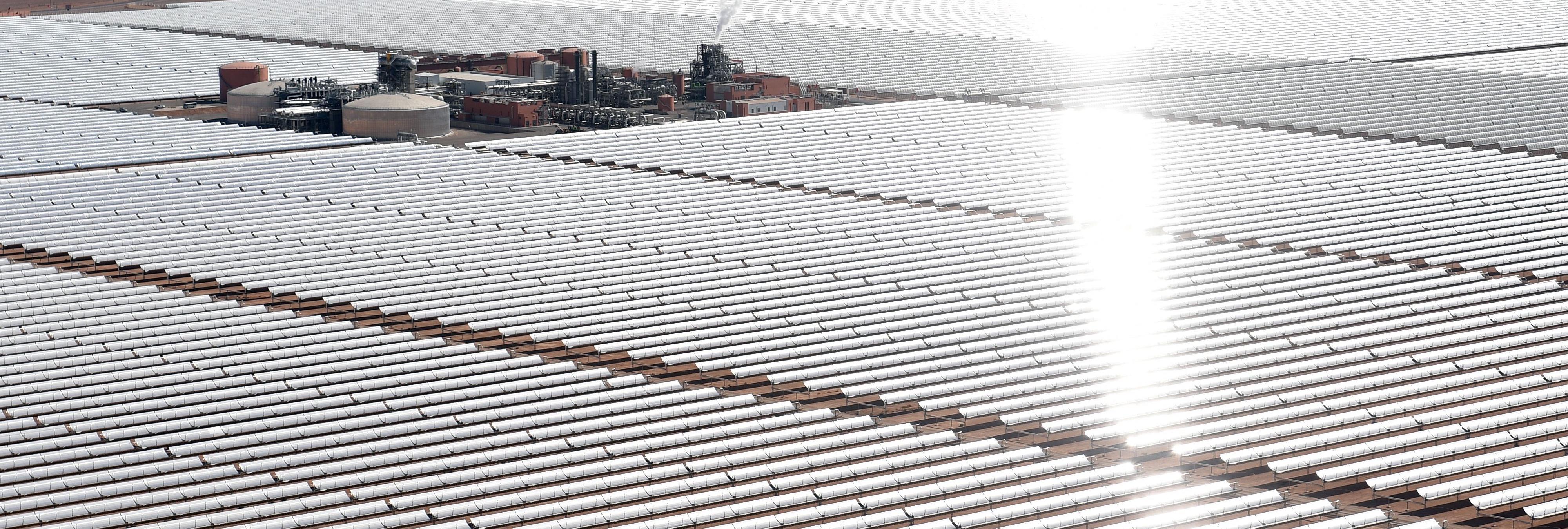 África podría convertirse en el motor energético del mundo con esta colosal planta solar