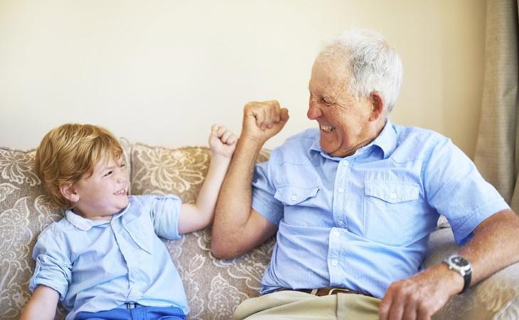 Niños y mayores son habituales protagonistas de spots publicitarios